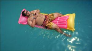 ML Film Still - Romni in pool